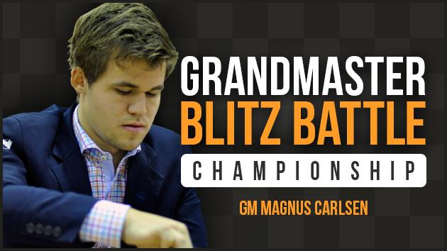 Carlsen Headlines Chess.com Blitz Championship