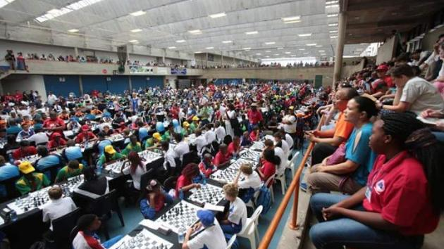 2,400 Play Chess Tournament Under 1 Roof