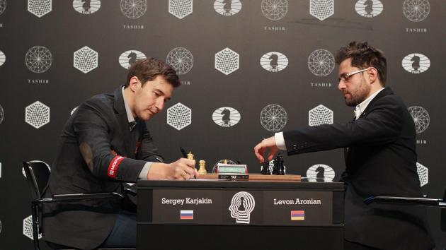 Nakamura Beats Topalov; Aronian & Karjakin Retain Lead At Halfway Point