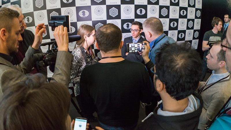 Caruana Beats Anand, Now Leads With Karjakin At Candidates'