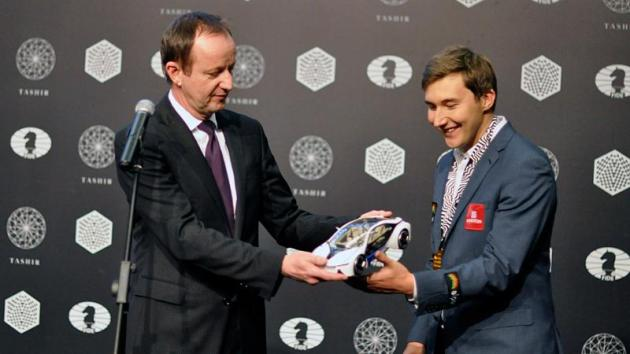 Karjakin Wins Candidates' 1st Prize And A BMW (Not)