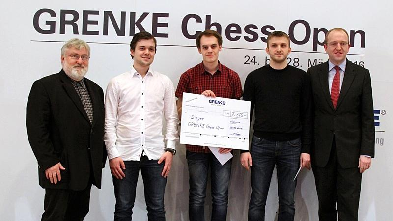 Huge Surprise At Inaugural Grenke Chess Open