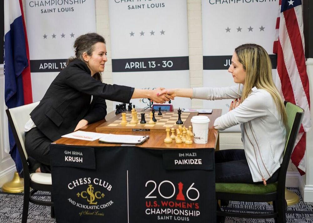 Caruana, Paikidze Clinch 1st U.S. Championships