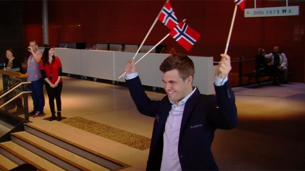 Magnus Carlsen Finally Wins On Home Soil