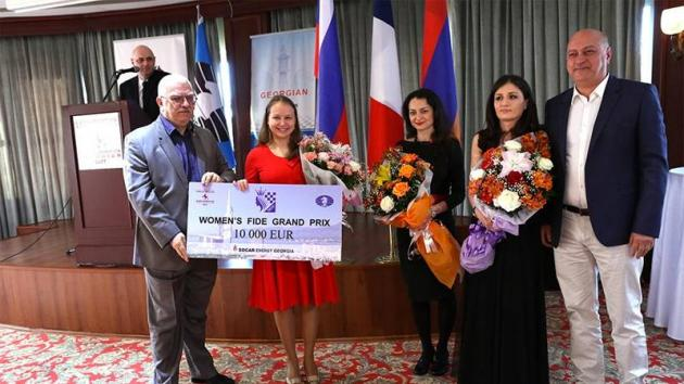 Gunina Wins Batumi Grand Prix