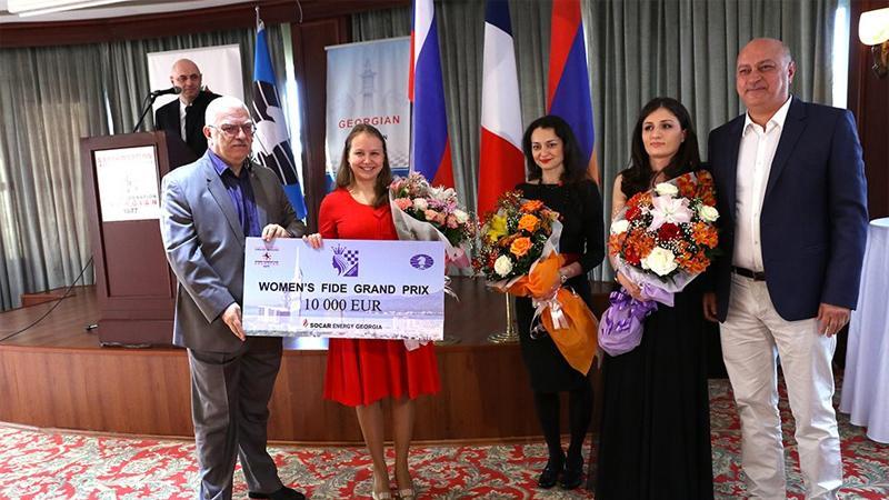 Gunina Wins Batumi Grand Prix