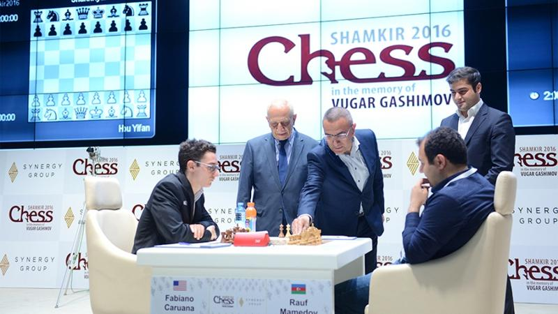 Caruana Moves To 3.5/4 In Shamkir, Giri Close Behind