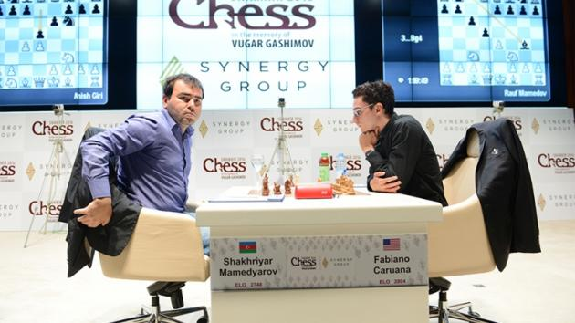 Caruana Stumbles, Caught By Giri Before Shamkir's Final Round