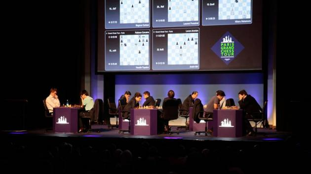 Carlsen, Nakamura Tied For 1st After Paris GCT Rapid Day 1