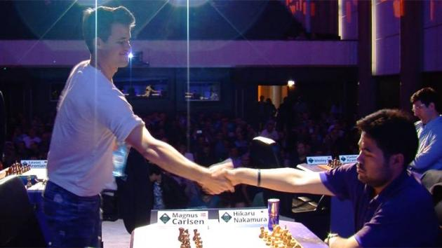 Nakamura Dominates Paris Blitz But Loses To Carlsen