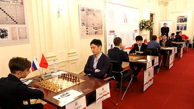 Russia Beats China 25.5-24.5 In Annual Friendly Match