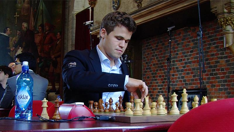 Carlsen Perfect On Day 2, Wins Leuven Rapid