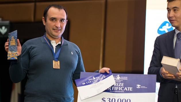 Eurasian Blitz Cup: Amonatov Wins A Fortune, Ahead Of Big Names