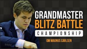 Carlsen Routs Petrosian 21-4 In Blitz Battle's Thumbnail
