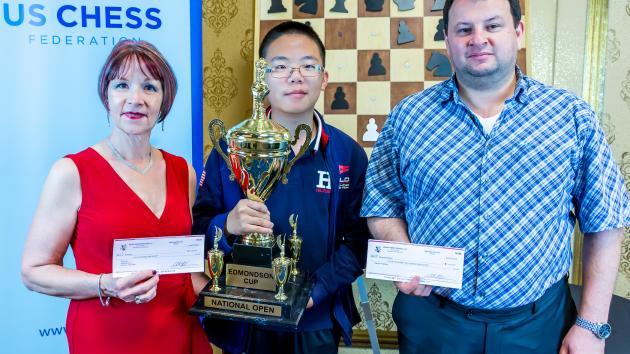 Ruifeng Li, Fridman Tie For First At National Open