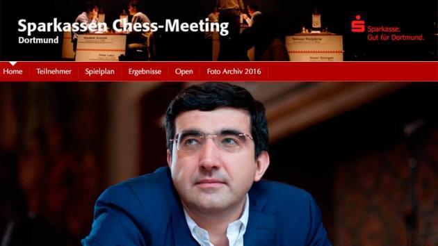Kramnik Going For 11th Dortmund Title
