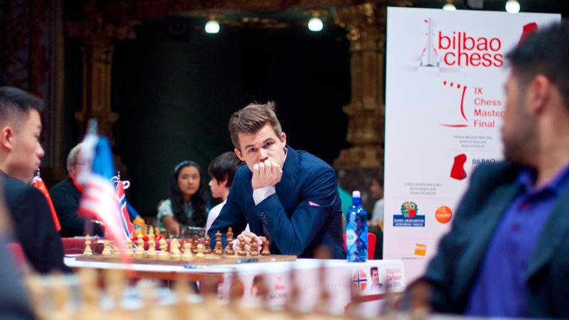 Carlsen Recovers, Beats Wei Yi In Bilbao