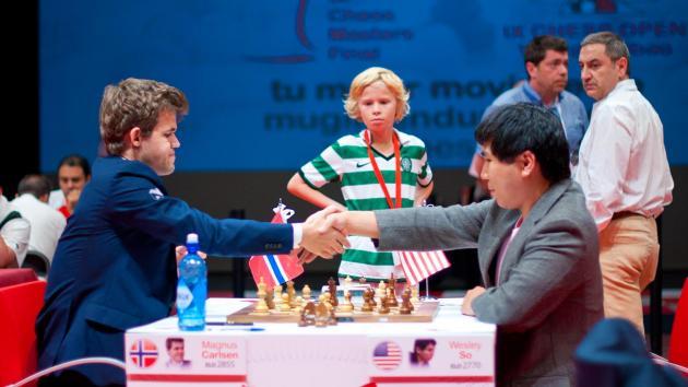 Magnus Carlsen Again Only Winner In Bilbao