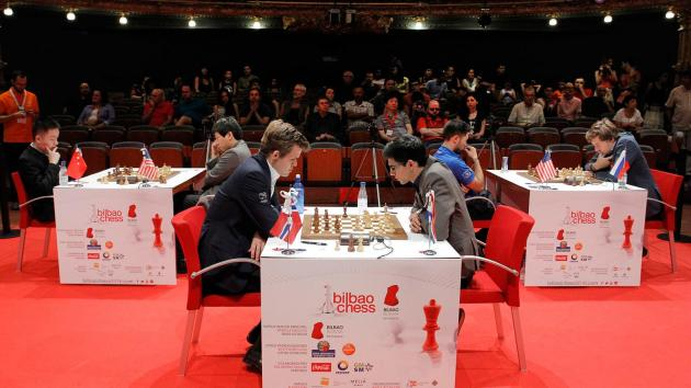Three Draws In Bilbao; Giri Still Undefeated Vs Carlsen