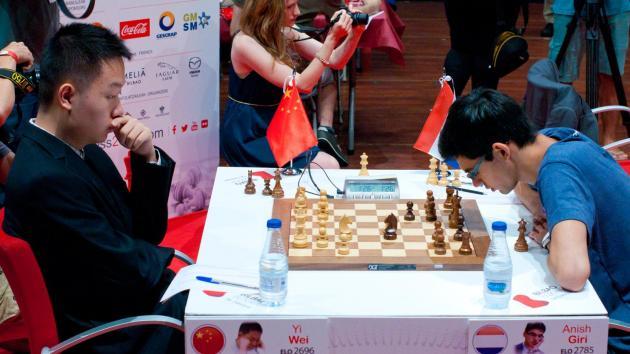 Giri 'Hallucinates' In Bilbao, Loses Berlin Endgame To Wei Yi