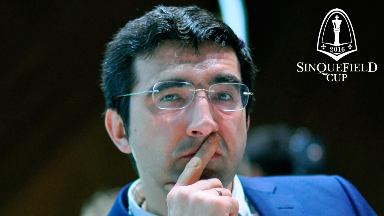 Kramnik Withdraws From Sinquefield Cup, Cites Back Problems