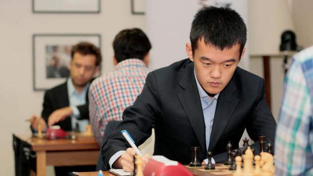 Ding Holds Marathon Game vs Caruana; All Draws In Sinquefield