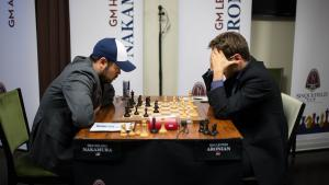 Aronian, Svidler Grab 2 Pawns; Win 2 Endgames's Thumbnail