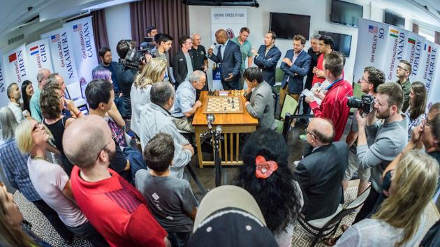 Kasparov, Other Elites, And The Sinquefields Take 'Ultimate Moves' To Overtime
