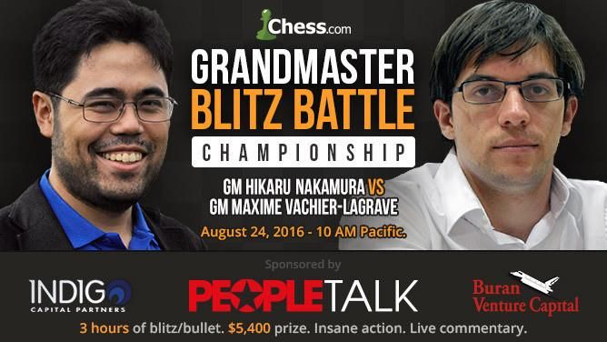 Nakamura Routs MVL Via 3-Minute Special, Will Face Carlsen In Blitz Battle Final
