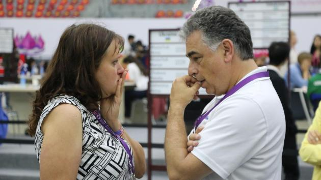 Grandmasters Meet As Olympiad Heats Up
