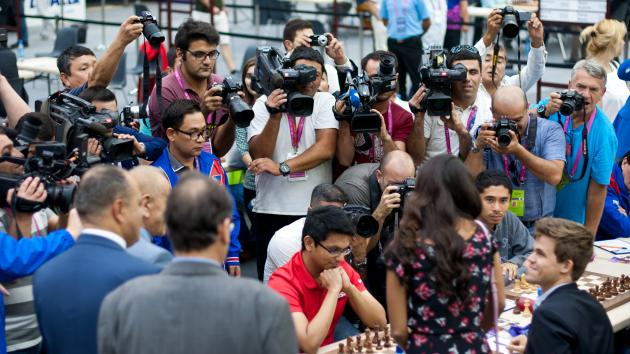Olympiad: India Leads Open; Russia, Ukraine Top Women's Section