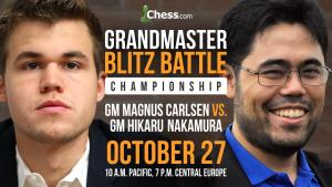 Carlsen-Nakamura Championship Set For October 27's Thumbnail