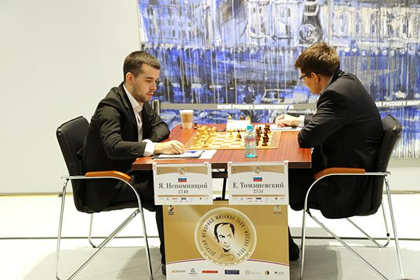 Nepomniachtchi Still Hot; Grabs 1st Round Lead In Tal Memorial
