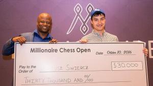 GM Dariusz Swiercz Wins 3rd Millionaire Open's Thumbnail