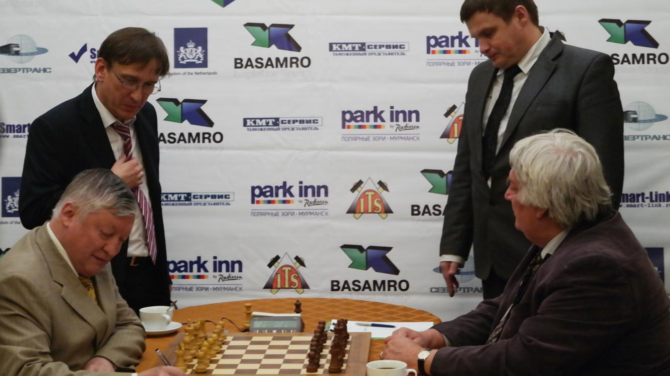 Timman Finally Beats Karpov In A Match