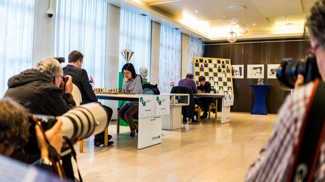 Hou Yifan-Short, Van Foreest-Sokolov Matches Underway In Hoogeveen
