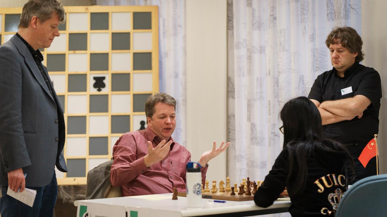 Hou Yifan Trails In Hoogeveen Match