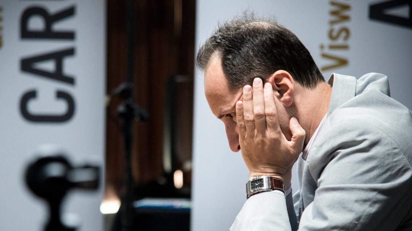 Topalov Gambles, Leads Champions Showdown