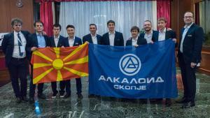 Team 'Alkaloid' Wins European Club Cup's Thumbnail