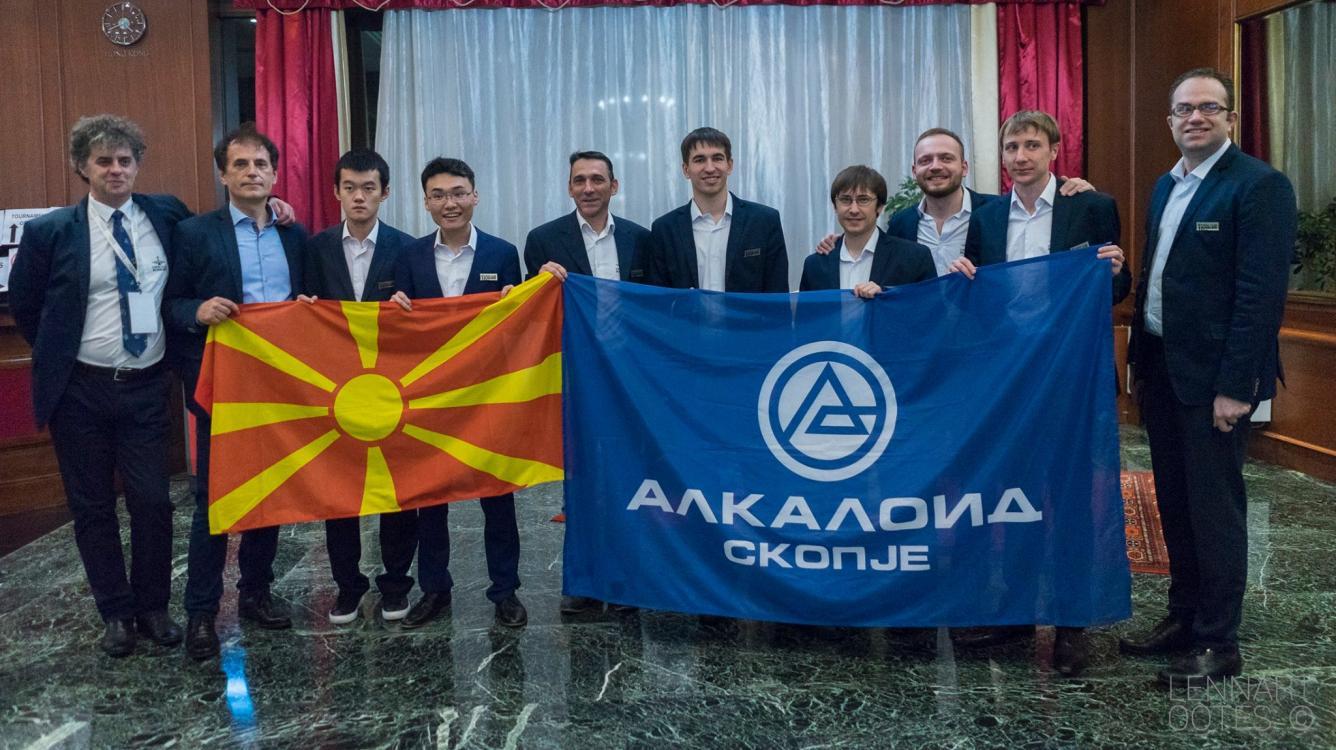 Team 'Alkaloid' Wins European Club Cup