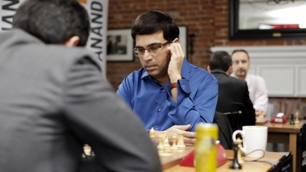 Anand Leads Champions Showdown, Nakamura Misses Incredible Resource