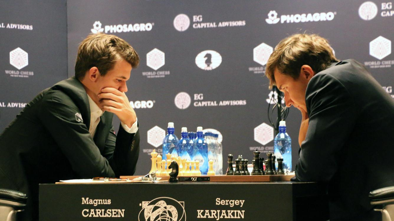 Carlsen Can't Airlift Karjakin's Berlin In Round-3 Draw