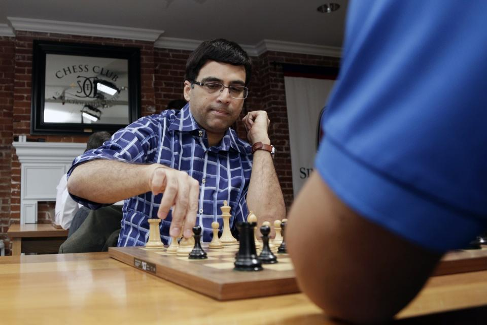 Anand In Great Form, Wins 2016 Champions Showdown