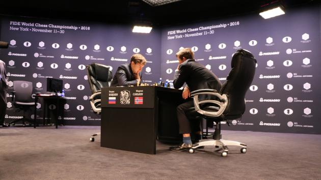 Karjakin And Carlsen Take Half Day With Short Draw In Game 6