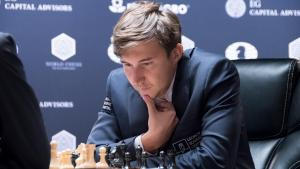 Karjakin Beats Carlsen, Leads World Championship's Thumbnail