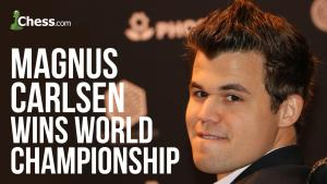 Carlsen Wins Rapid Playoff, Defends World Championship