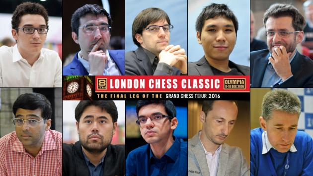 London Chess Classic Takes Off Tomorrow