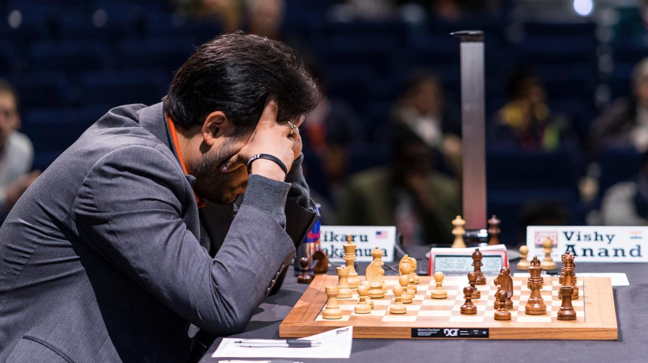 Anand Defeated By Nakamura On Birthday