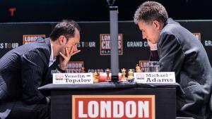 Adams Takes Down Topalov; Kramnik 'Superhuman''s Thumbnail