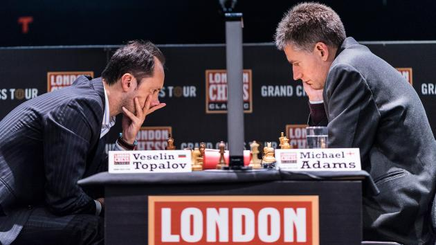 Adams Takes Down Topalov; Kramnik 'Superhuman'